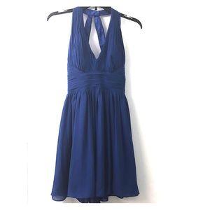 Cache Royal Blue Cocktail Dress - Size 0